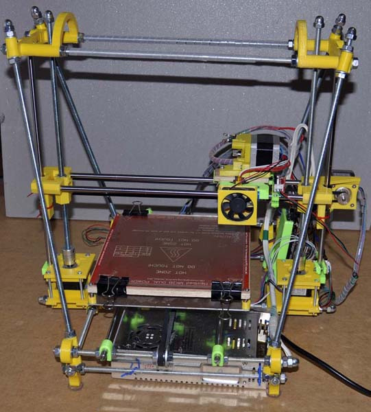 Building instructions for Reprap Next 3d printer